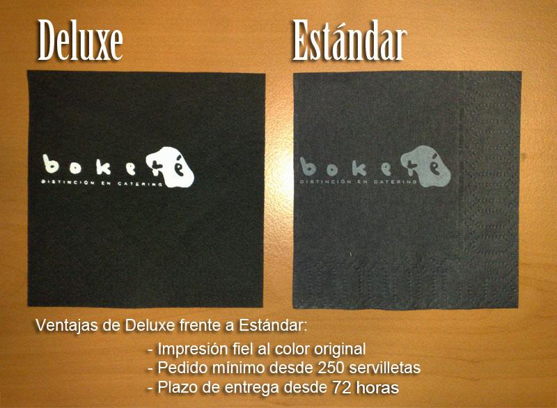 Deluxe vs Estándar