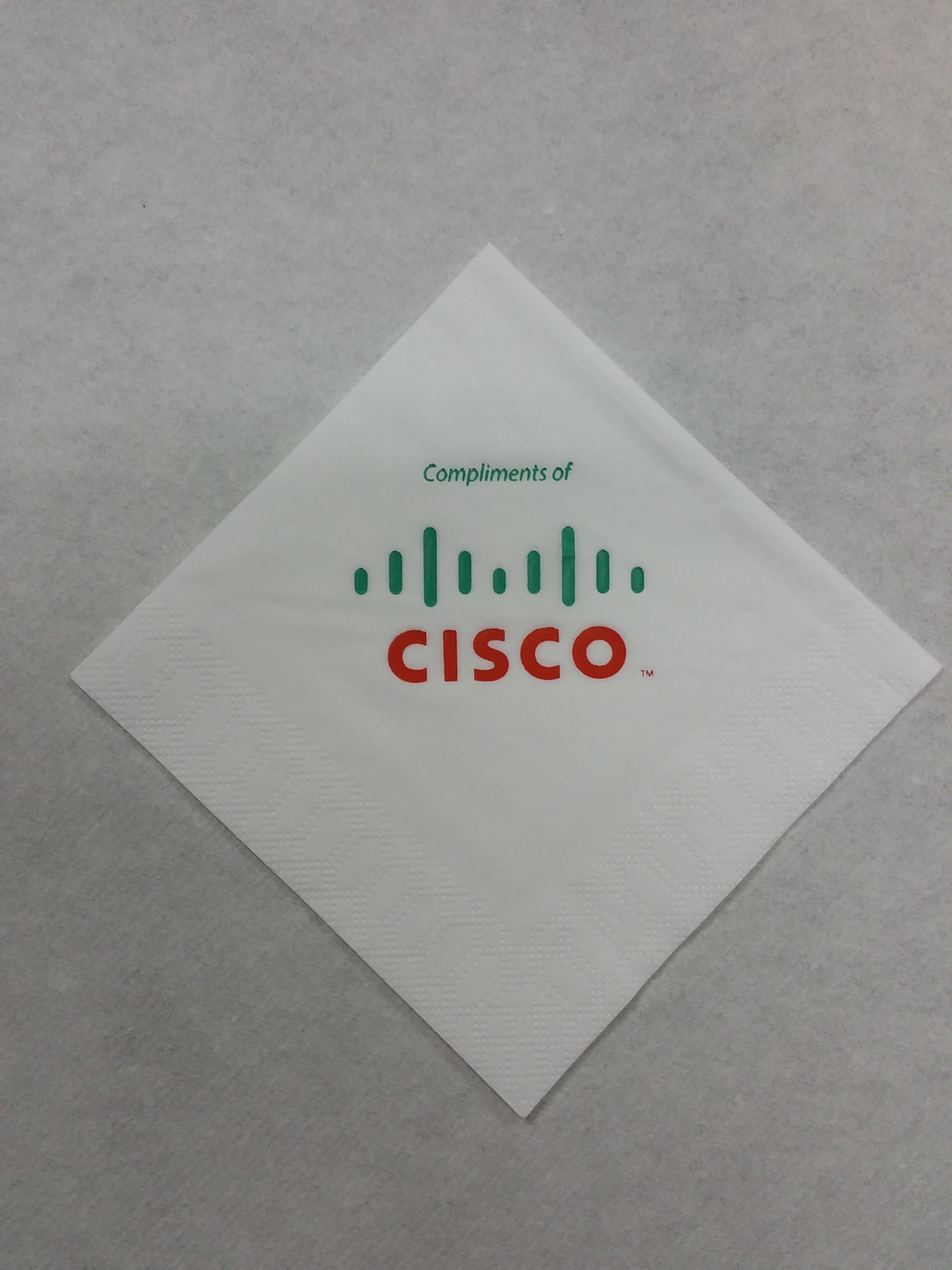 Servilleta Personalizada Cisco