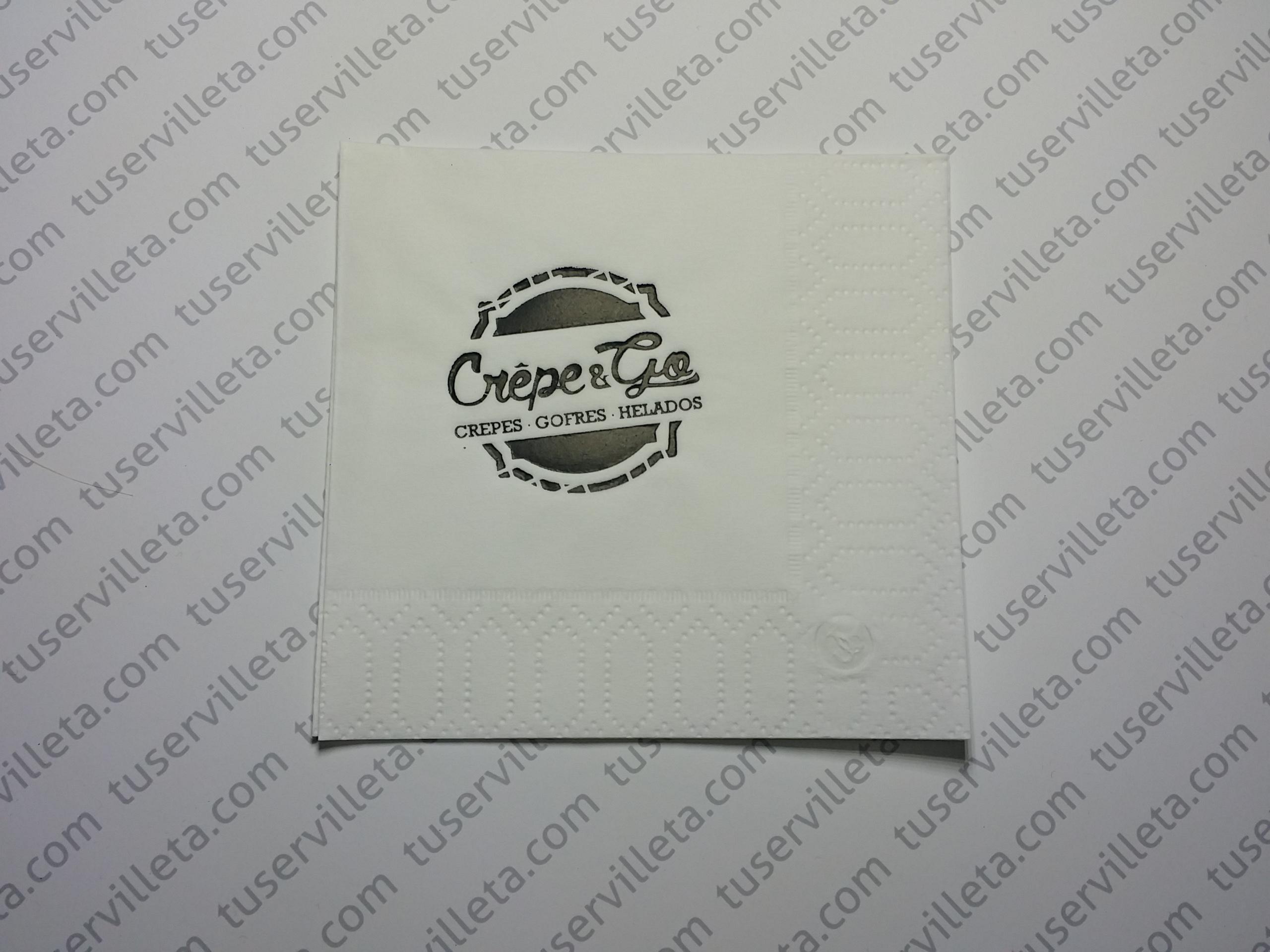 Servilleta Impresa Crepe & Go