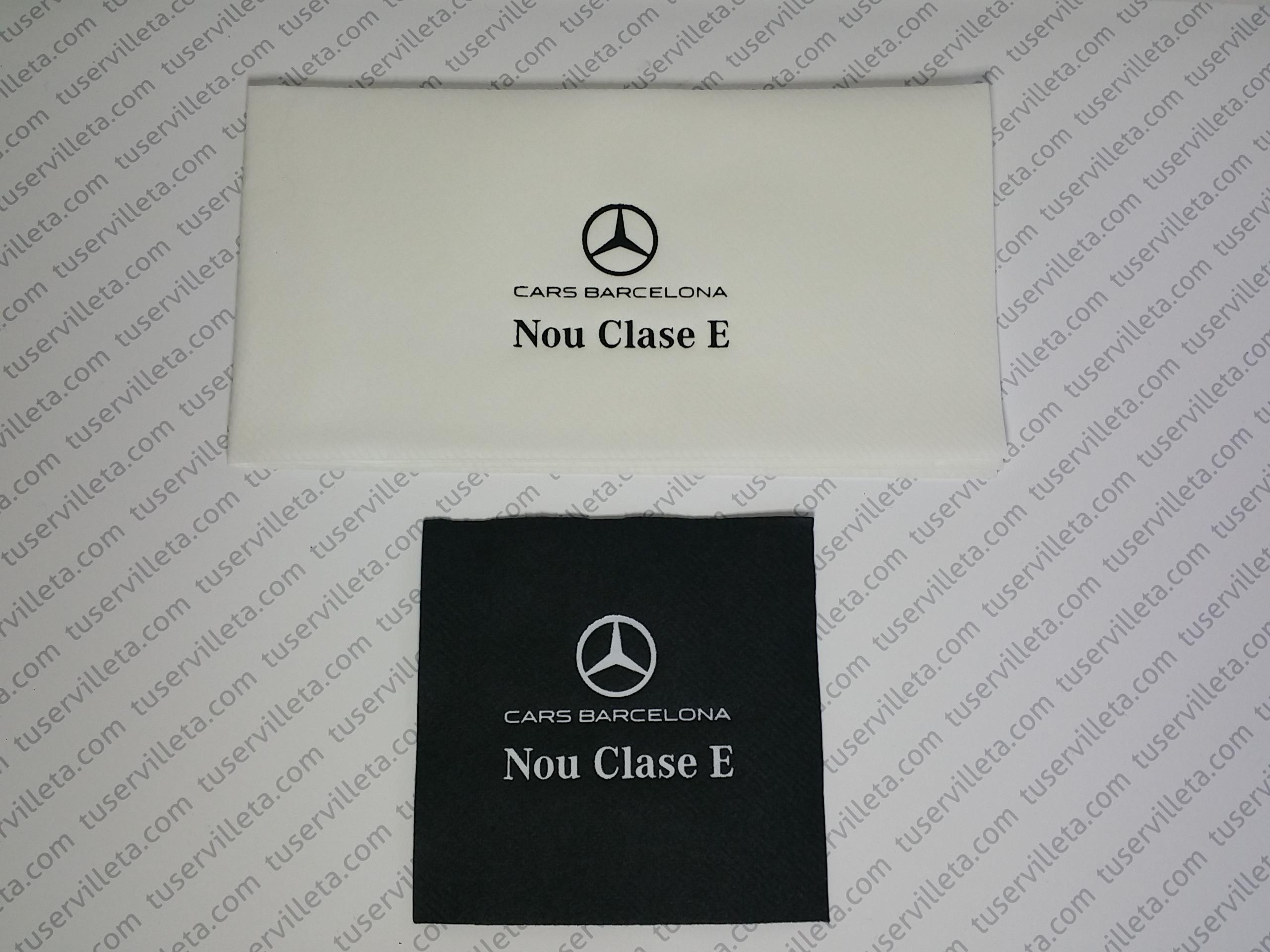 Servilletas Impresas Mercedes-Benz