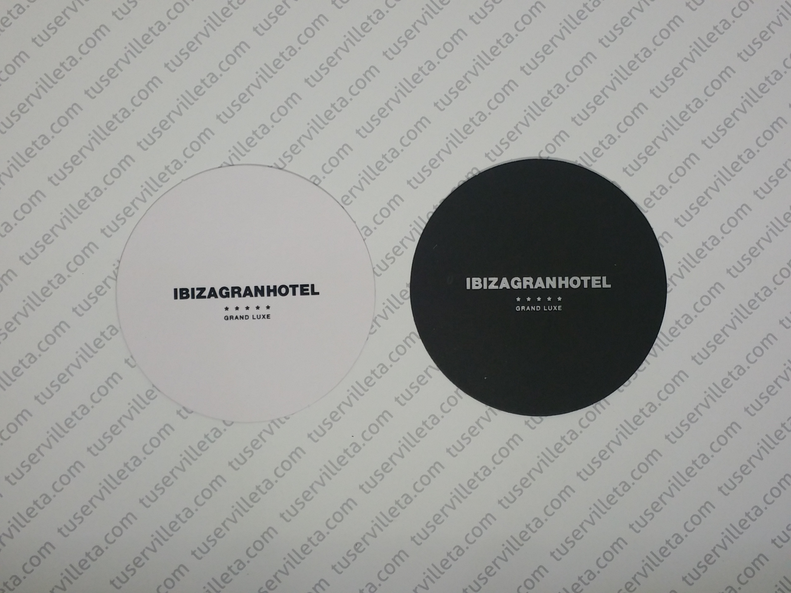 Posavasos Impresos Ibiza Gran Hotel