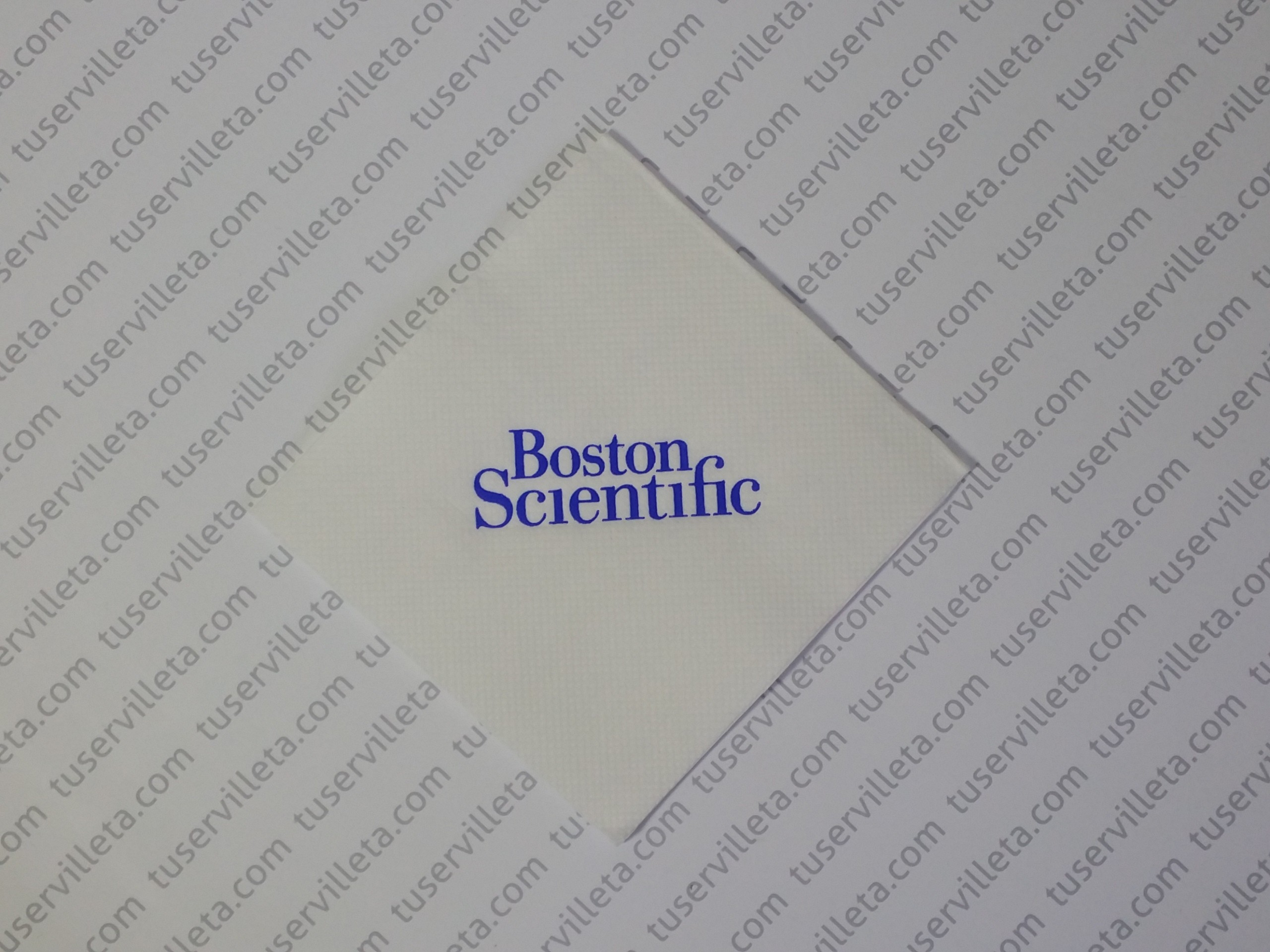 Servilletas Impresas Boston Scientific