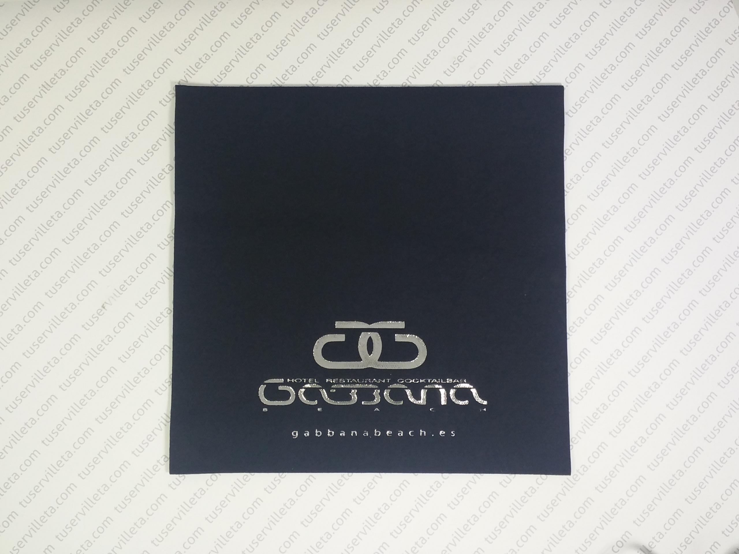 Servilletas Impresas Gabbana