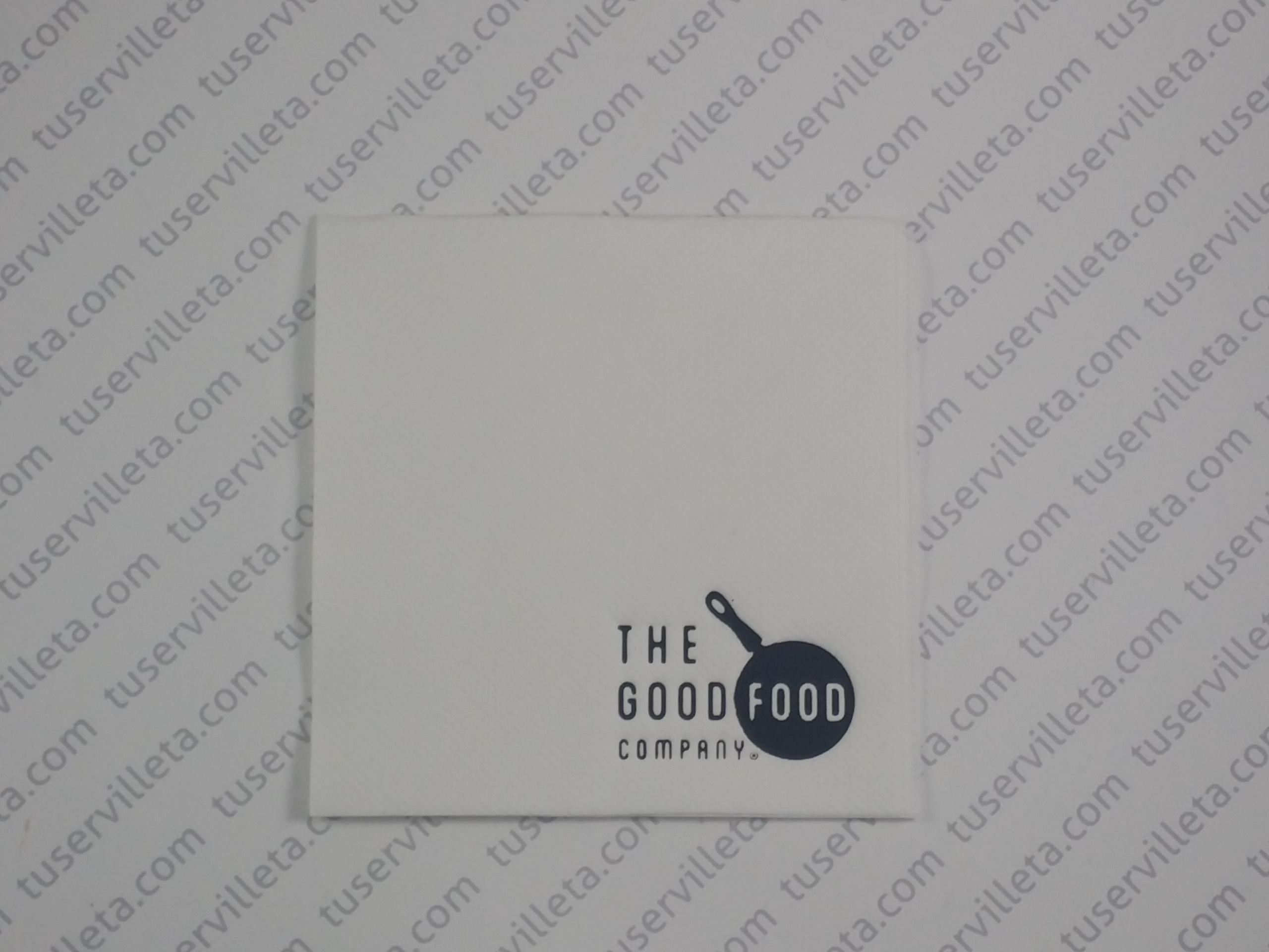 Servilletas Impresas The Good Food