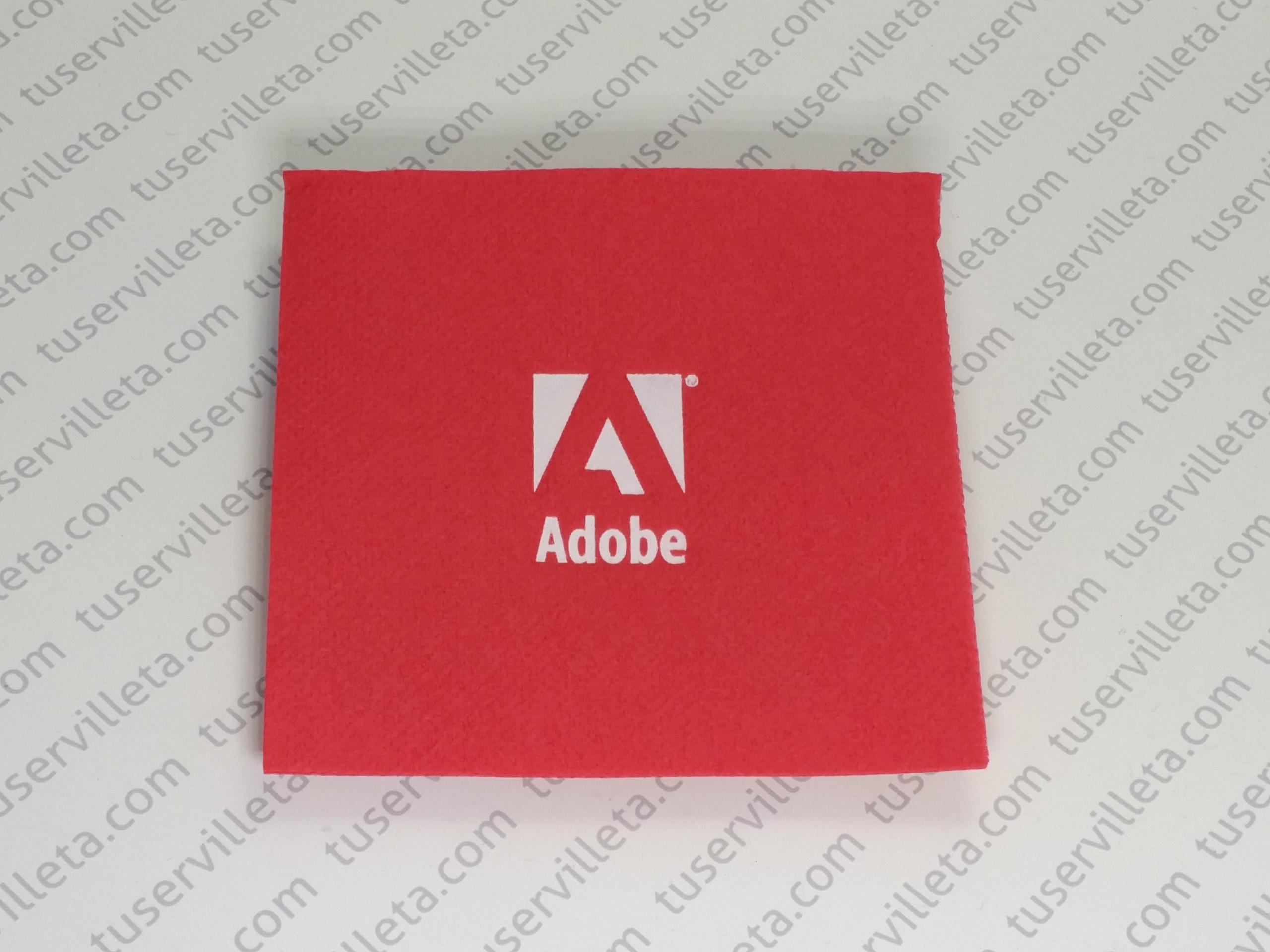 Servilletas Impresas Adobe