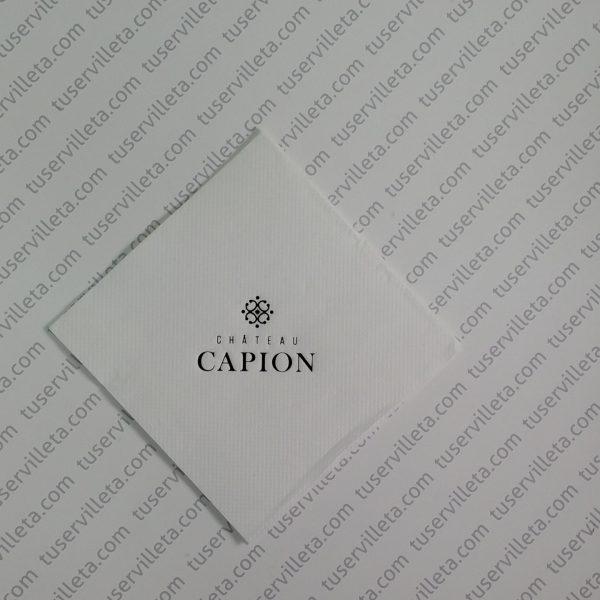 Servilletas Impresas Chateau Capion