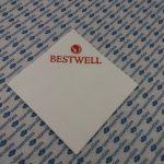 Printed napkins BESTWELL
